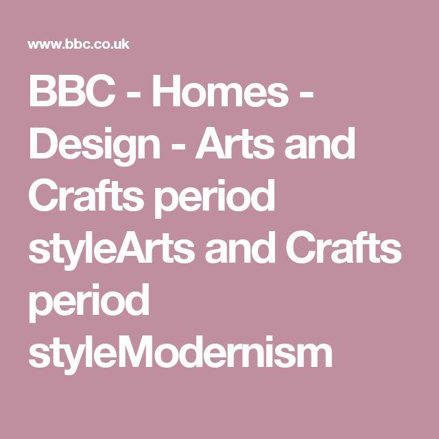 BBC - Homes - Design - Arts and Crafts period styleArts and Crafts period styleModernism