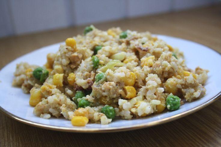 Fotorecept: Zeleninová ryža