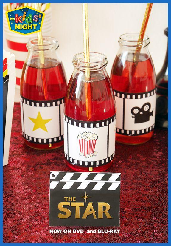 DIY the perfect movie night for your kids! #TheStarMovie