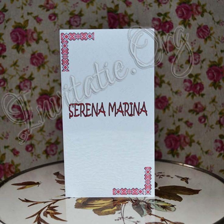 Invitatie Handmade cu model Traditional!