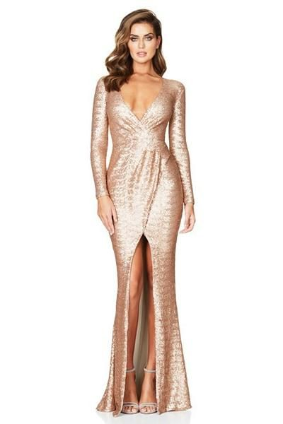 9f56c8ba53 NOOKIE Cannes Gown (Champagne)- RRP  469 - Dress for a Night- Designer