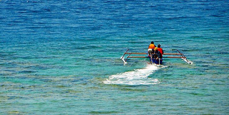 Seawater quality sampling done. Banggai Ammonia Plant - Luwuk - Central Sulawesi - Indonesia