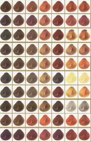 Pin By Internatural On Color Charts Henna Hair Henna Henna Hair