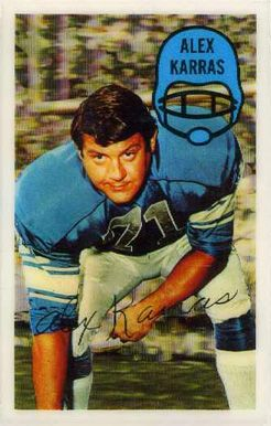 alex karras football card | 1970 Kellogg's Alex Karras #13 Football Card