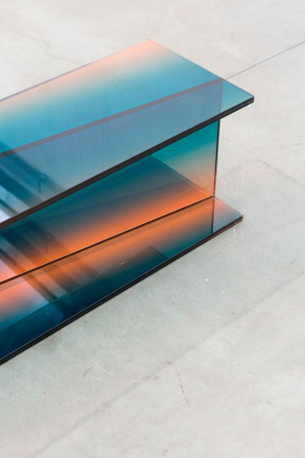 Designer: Germans Ermičs. Project: Shaping Colour. Exploring Glass As A  Prominent Material