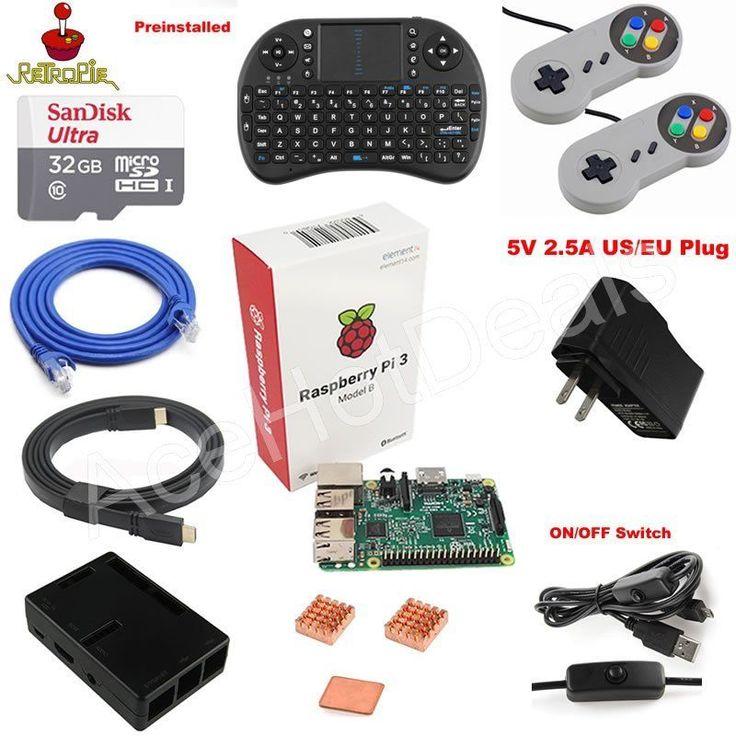 32GB Class10 48 Mb/s Micro SD TF Card RetroPie preloaded for Raspberry Pi 3 Model B. 1 x 32GB Class10 48 Mb/s Micro SD TF Card RetroPie preloaded for Raspberry Pi 3 Model B. Super Nintendo SNES USB Controller GAME PAD For PC Raspberry Pi 3 Retropie. | eBay!