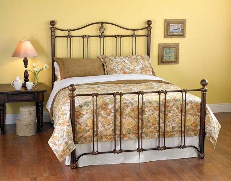 wesley allen iron beds drexel at d noblin ornate and reminiscent of renaissance design this bed features a lovely combination of