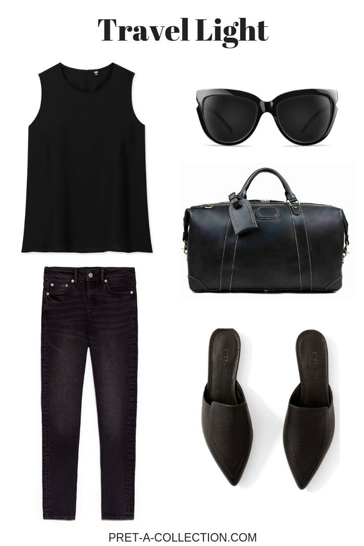 Überall in Schwarz. #minimal – Clothes, My Style, Shoes, Outfits, Handbags
