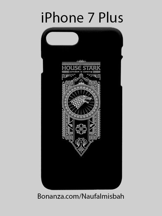 Game of Throne Stark iPhone 7 PLUS Case Cover Wrap Around