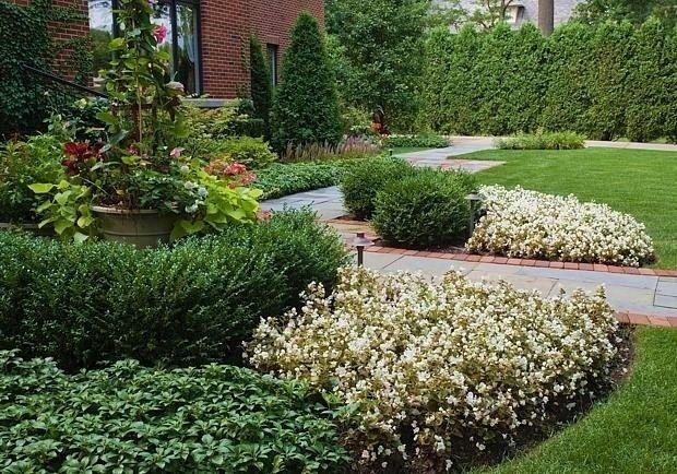 Ландшафтный дизайн в Новой Англии - Дизайн интерьеров | Идеи вашего дома…