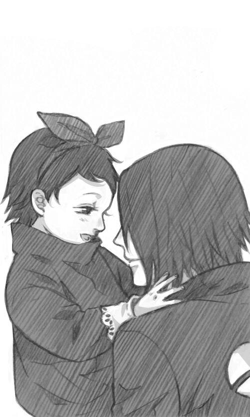 sasuke and sarada | Tumblr