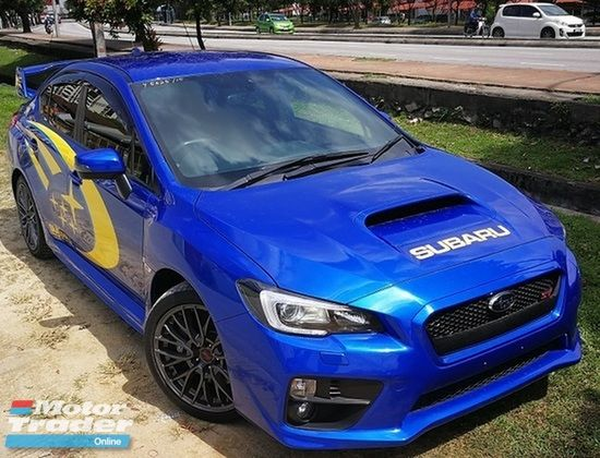 SUBARU WRX 2015  SUBARU IMPREZA STI 2.0 TURBO 6 SPEED MANUAL  FACELIFT ( JAPAN LIMITED SPEC ) | Recon Car for sales as advertised on Motor Trader for RM 218,000 in Kuala Lumpur