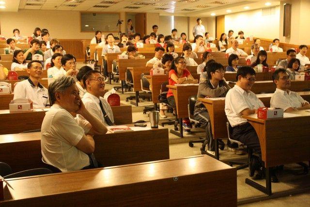 100/06/07陳幸一教授演講─與會聽眾歡喜齡聽大師演講