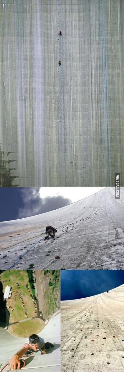 World's Biggest Climbing Wall, Switzerland