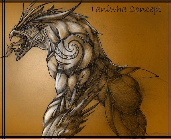Maori Mythology: Maori Art, Maori Tattoo Patterns, Scary Art