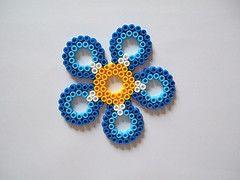 Hama Bead Flower Patterns