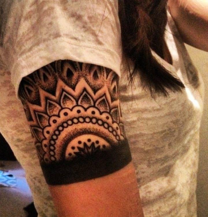 personalized right half sleeve mandala tattoo - mandala tattoos ...