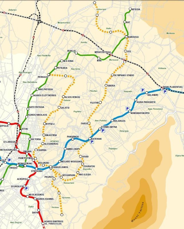 Greece Makes Announcements For Extension Of Athens Metro (Line 4)