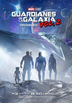 Marvel Spoiler Oficial: Nuevo Wallpaper y Poster de Guardianes de la Galaxia Vol. 2 ( Guardians Of The Galaxy Vol. 2)
