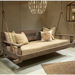 Lowcountry Originals Driftwood Swinging Bed LCOF10BK