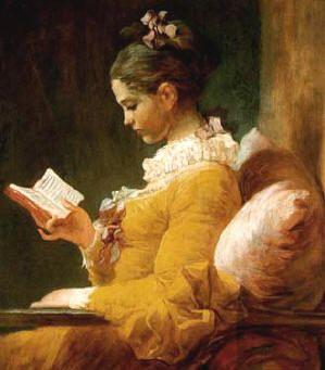 (lezend meisje) Mijn geliefkoosde schrijvers zijn zij die zich blootgeven en toch hun kleren aanhouden.  C Buddingh'