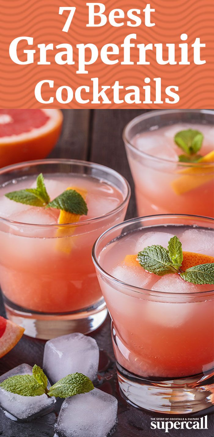 With its bracing flavor and sunshiny brightness, the bulbous fruit plays well with almost any spirit from tequila to rum to vodka. Here, the best cocktails made with grapefruit juice.
