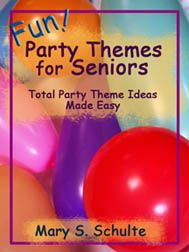 Pass the buck: let the seniors sit in a circle, wrap any kind of item, put on the music, let them pass the item around, stop the music and the person holding the item gets it but are out. Start all over again untill everyone are out but has a item(gift). I
