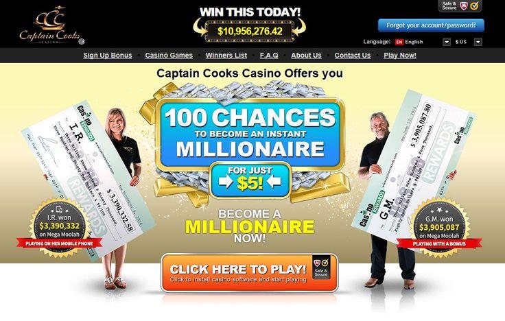captain cooks online casino app