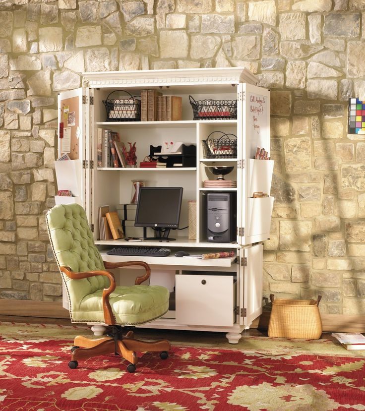 project organized home office armoire. Verona Office Armoire Project Organized Home