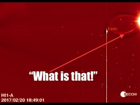SECCHI Spacecraft detects something 'mysterious' near Earth!