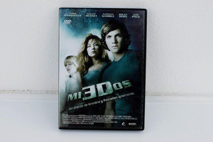 MIEDOS - JOE DANTE ( GREMLINS ) - DVD - CHRIS MASSOGLIA - NATHAN GAMBLE