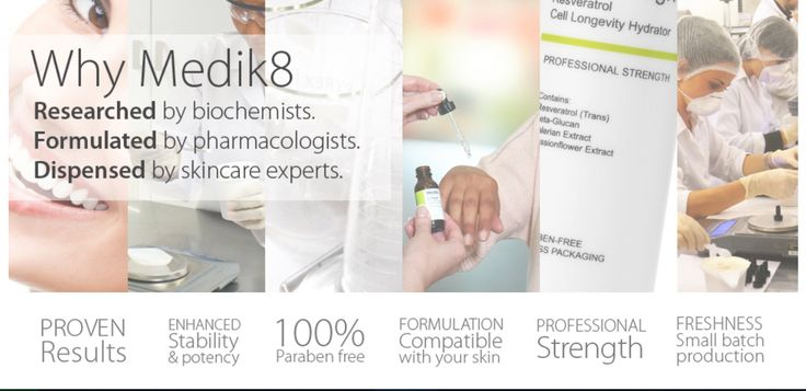 Medik8 - Endless Beauty  Medik8 skincare products and treatments are specifically formulated to target: skin ageing, skin blemishes, redness, pigmentation and dryness. http://endlessbeautylaserandbeautyclinic.com.au/skin-care/medik8/
