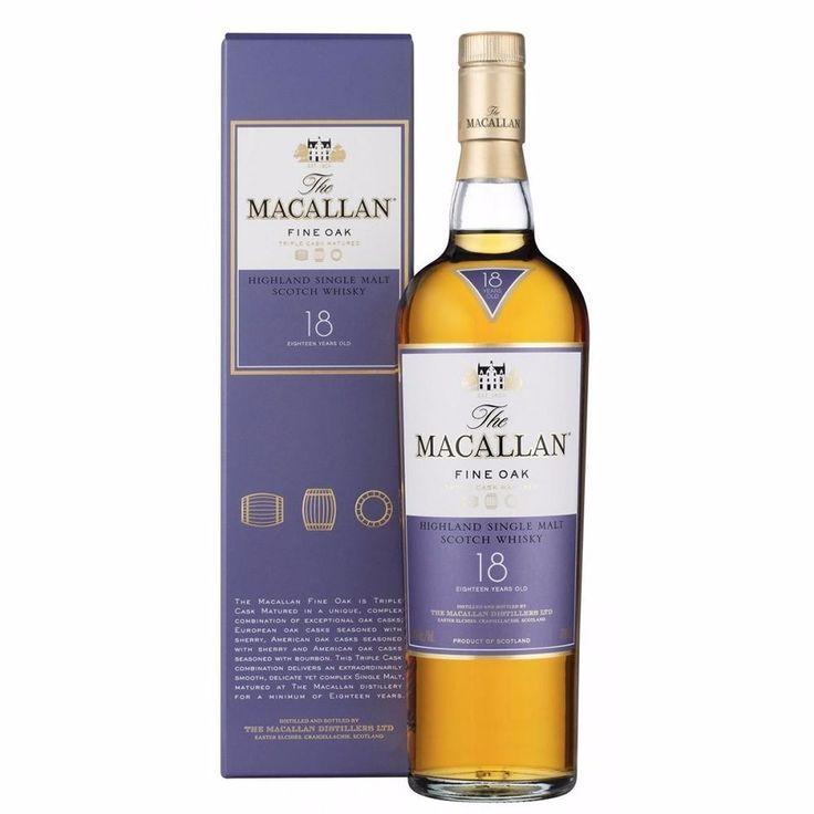 whisky the macallan 18 anos - 700ml