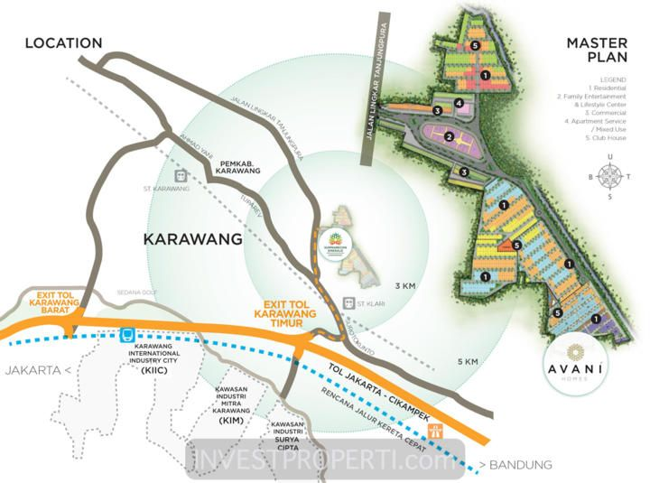 Peta Lokasi Summarecon Karawang dan Master Plan SEKAR. #summareconkarawang