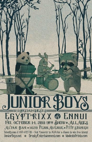 Junior Boys by Modesto