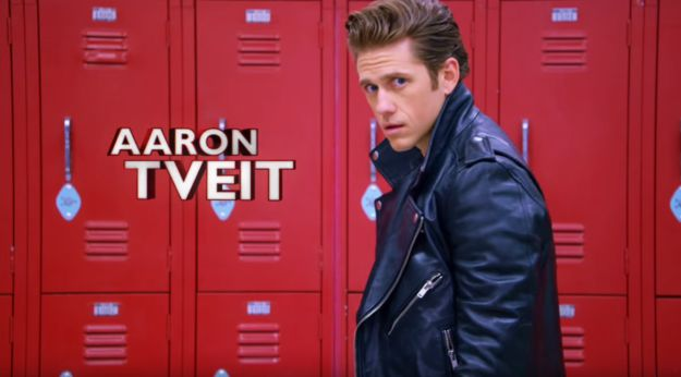 """…And Aaron Tveit will be melting hearts through the TV screen as Danny Zuko. 