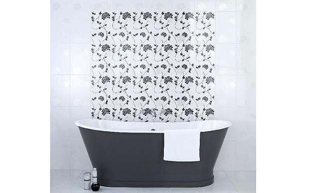 Give your bathroom a spa-like feel with luxurious bathroom tiles.