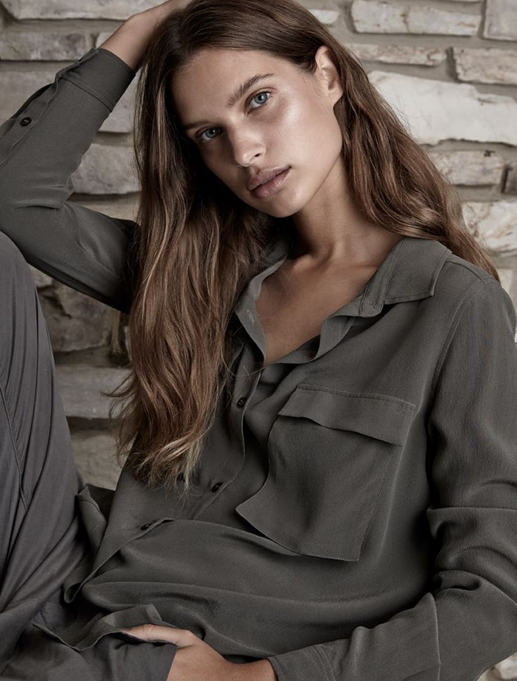 Elka Collective - Phoebe Shirt - Military