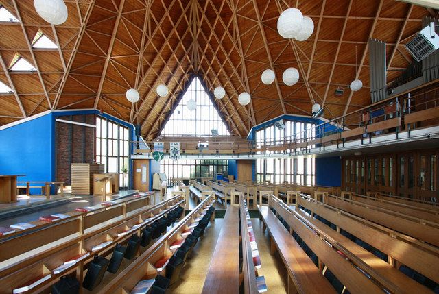 TQ4669 : St Barnabas, Rushet Road, St Paul's Cray, Kent - Interior