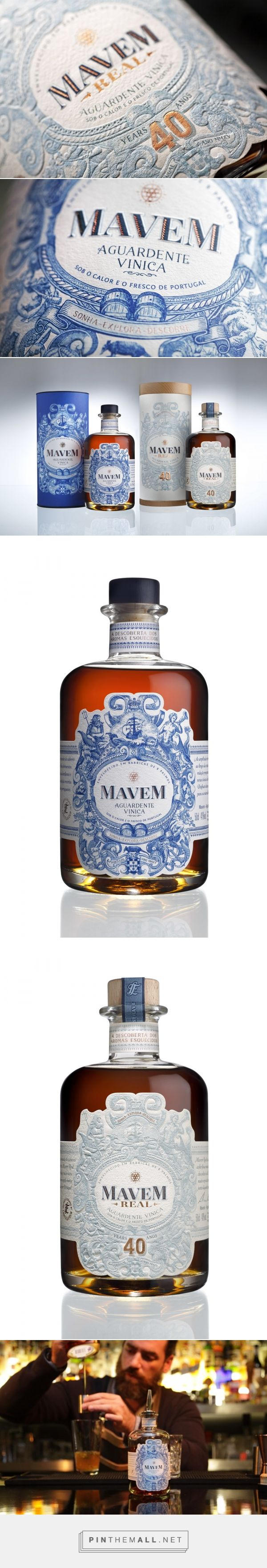 This Beautiful Brandy is the Golden Age of Portugal in a Bottle — The Dieline | Packaging & Branding Design & Innovation News - created via https://pinthemall.net