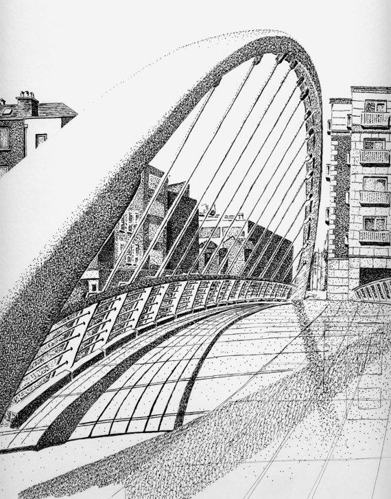 James Joyce Bridge - Dublin, Ireland