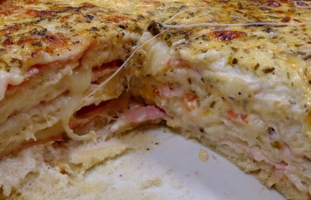 Aprenda a fazer Receita de sanduíche cremoso de forno com queijo , Saiba como fazer a Receita de sanduíche cremoso de forno com queijo , Show de Receitas