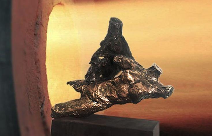 ERGO | Elena Rede, scultura in bronzo, esemplare unico  www.elenarede.com