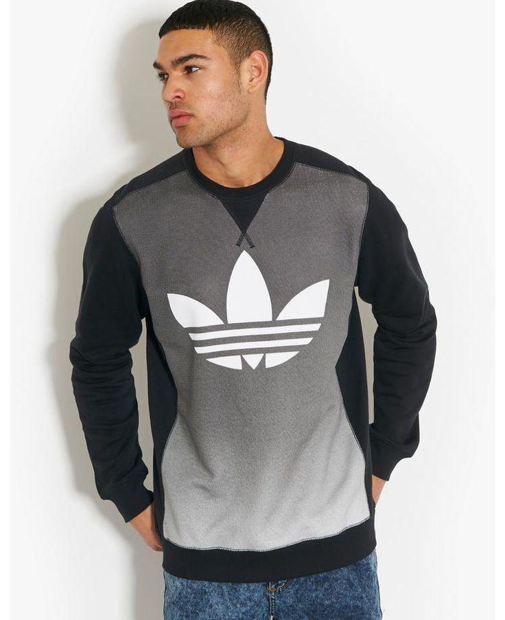 adidas Originals Faded Sweatshirt   BANK Fashion