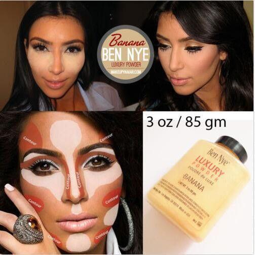 Ben Nye Banana Luxury Powder 3 oz Foundation Concealer