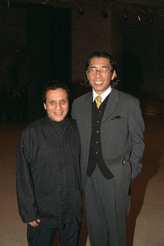 Аззедин Алайя и Такада Кензо