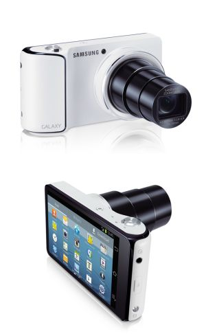 Samsung Galaxy Camera 21x zoom and 16-megapixel resolution