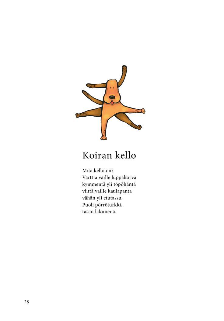 Koiran kello (Jari Tammi: Nakkikirja, Pikku-idis 2013)