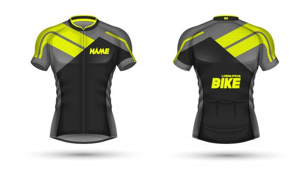 Cycling Jersey Template Jersey De Ciclismo Ciclismo Jersey