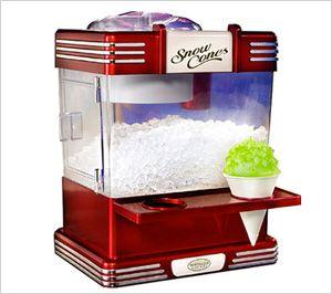 Fun kitchen gadgets for summer: Snow cone machine!
